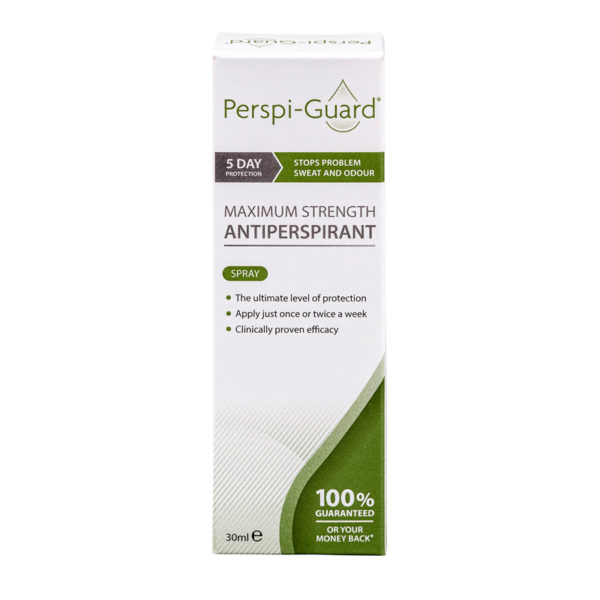 Perspi-Guard 30ml Spray Maximum Strength Antiperspirant - up to 5 days protection