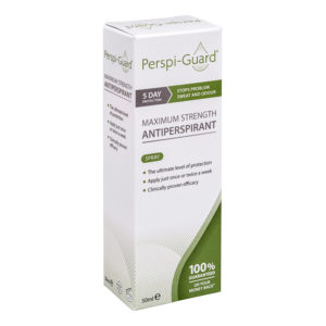 Perspi-Guard 50ml Spray Maximum Strength Antiperspirant - up to 5 days protection