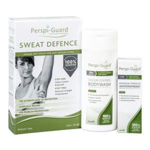 Buy Perspi-Guard Sweat Defence Spray & Bodywash Maximum Strength Antiperspirant - up to 5 days protection