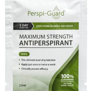Buy Perspi-Guard Wipes Maximum Strength Antiperspirant - up to 5 days protection