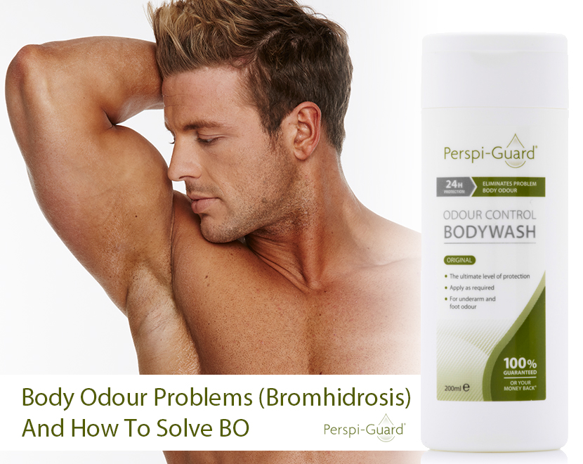 Body Odour Problems (Bromhidrosis) and how to solve BO