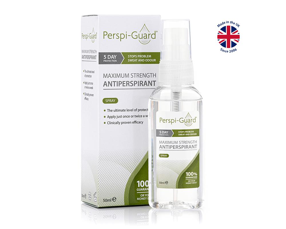 Perspi-Guard 50ml High Strength Antiperspirant Spray