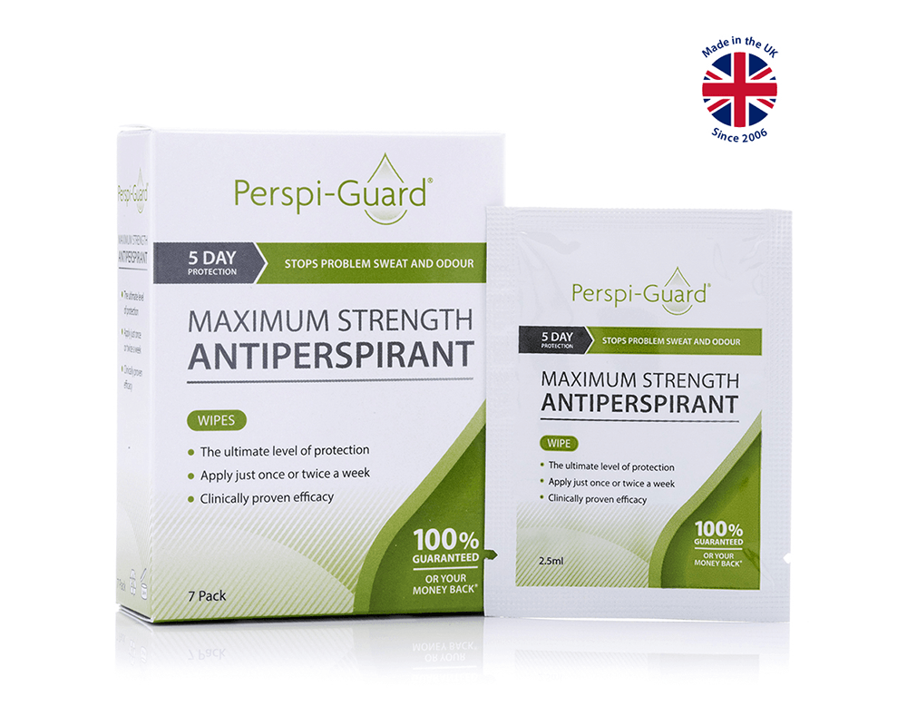 Perspi-Guard® Maximum Strength Antiperspirant Wipes
