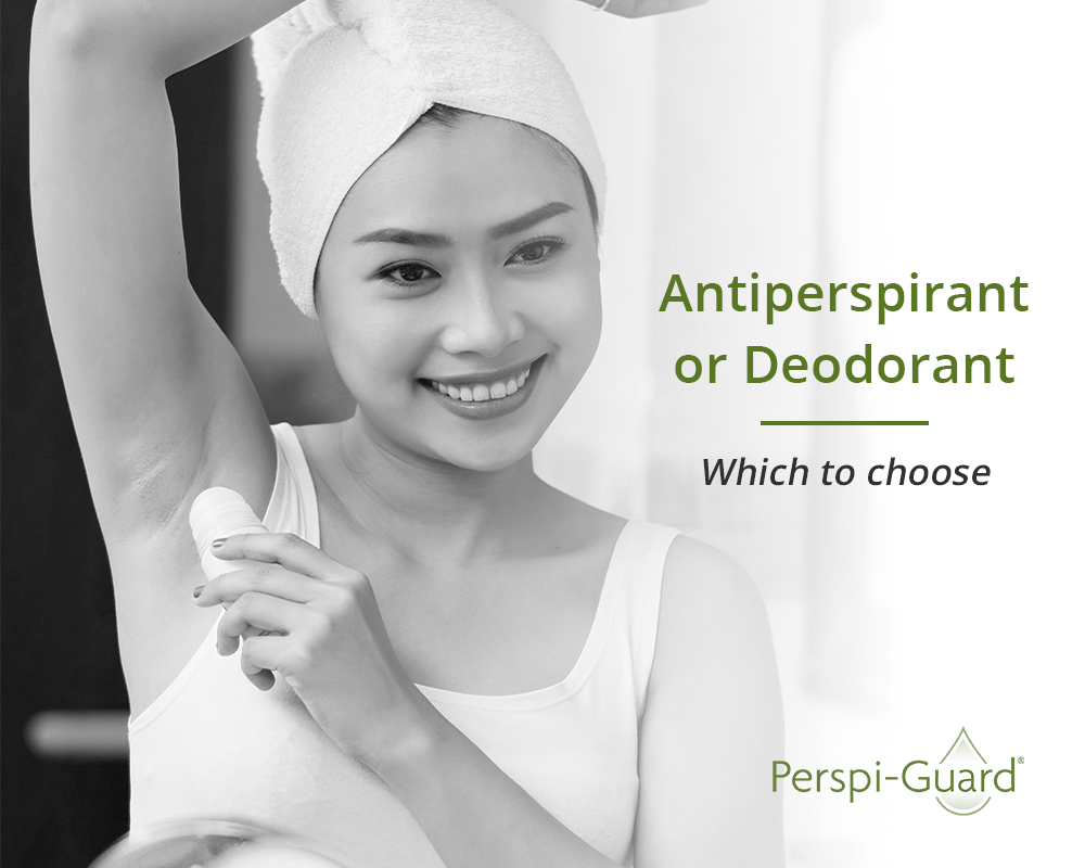 Antiperspirant or Deodorant - Which to choose - Perspi-Guard Blog